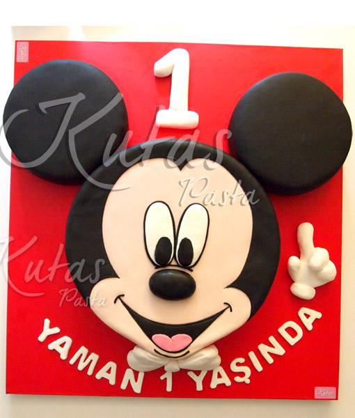 Mickey mouse pasta 1 yaş