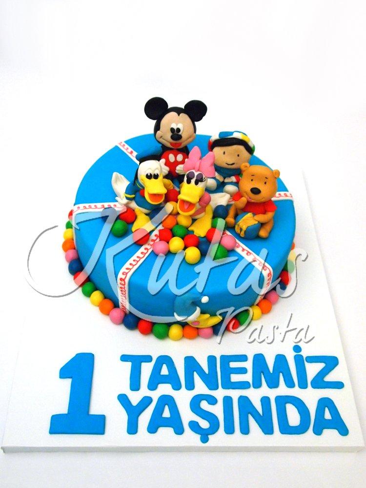 Disney 1 Yaş Pastası