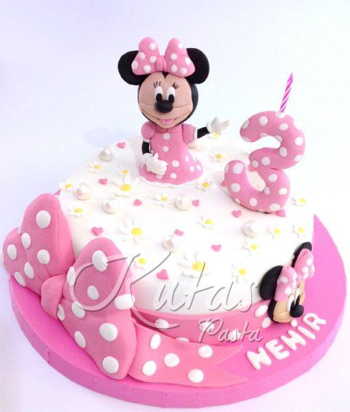 3 Yaş Minnie Mouse Pasta