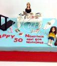 50 Yaş Pastası