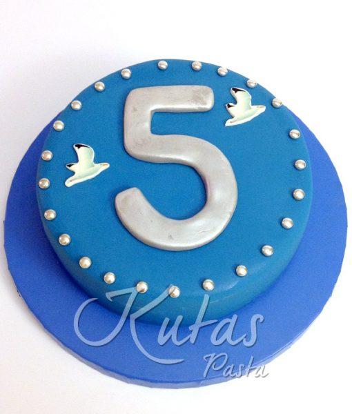 5. Yıl dönümü Pastası