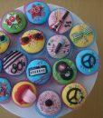 80ler Cupcake