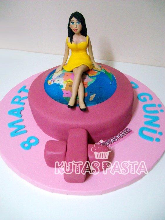 Dünya Kadınlar Günü Pastası