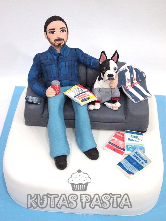Köpekli Öğretmen Pasta