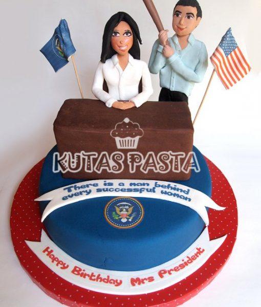 Amerika Başkanı Pasta Karı Koca