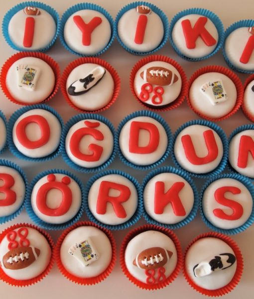 Amerikan Futbolu Cupcake