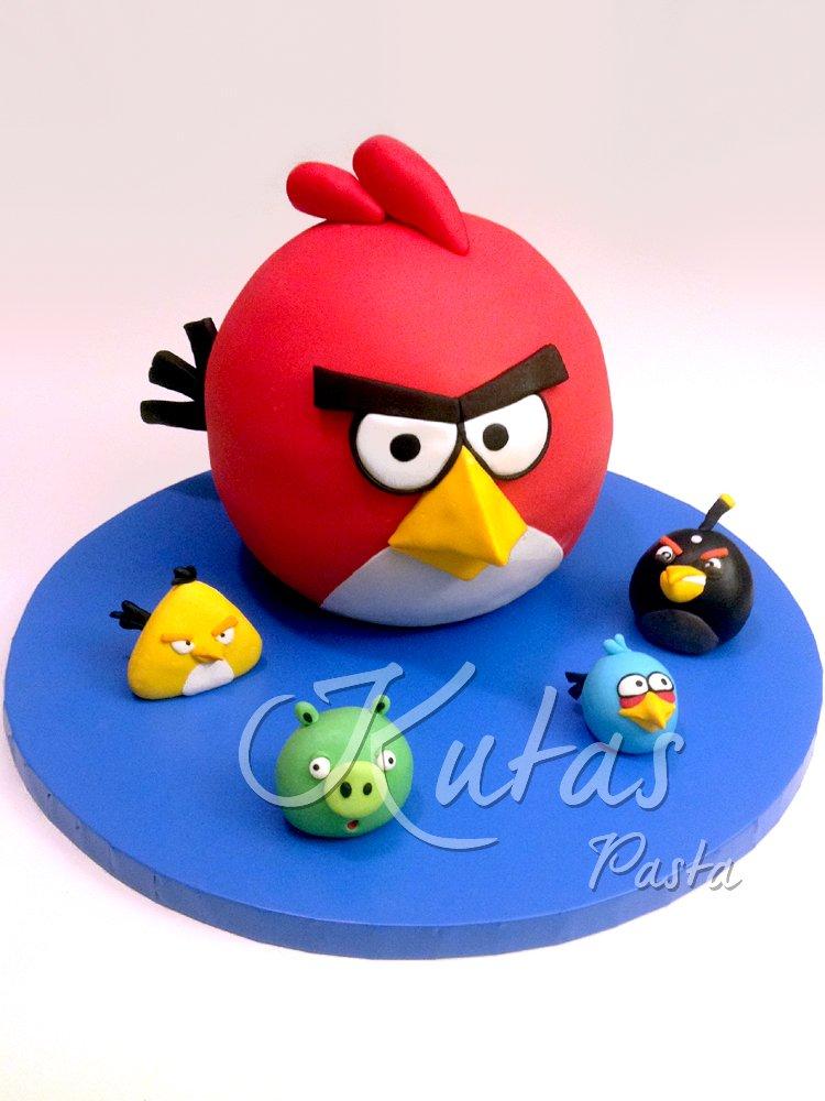 Angry Birds Pastası
