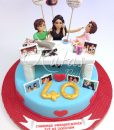 40 Yaş Anne Pastası