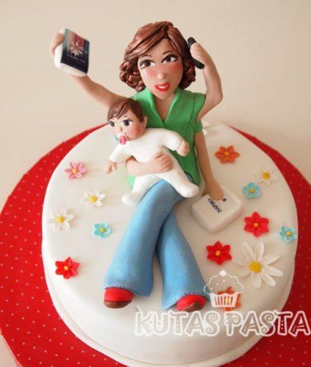 Anne ve Bebeği Pastası