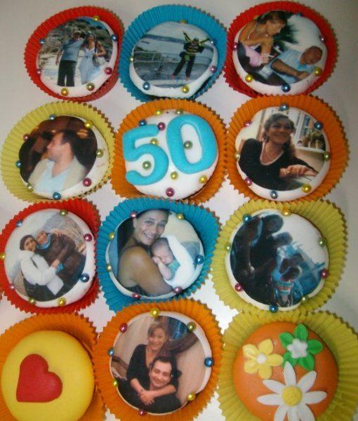 Anne 50 Yaş Cupcake