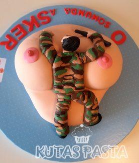 Asker Seksi Kadın Pasta