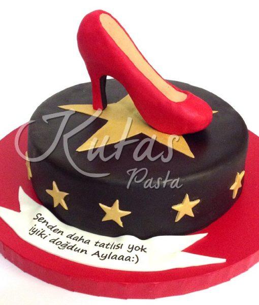 Topuklu Ayakkabı Pasta