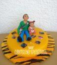 Müzisyen Pasta Baba ve Kızı