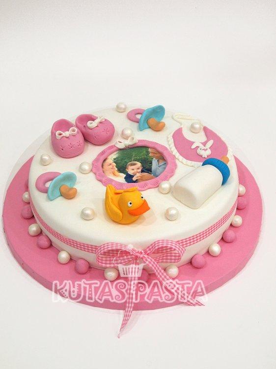 Kız Bebek 1 Yaş Pasta