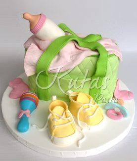 Baby Shower Kız Bebek Pasta