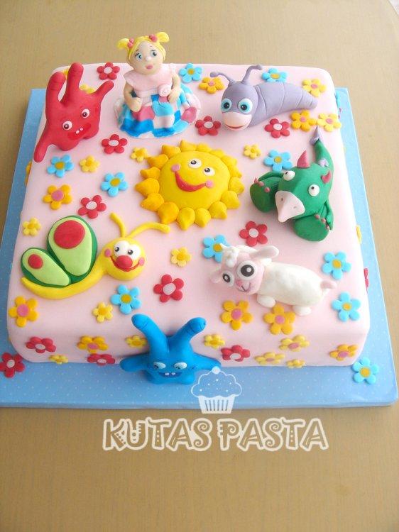 Baby Tv Karakterleri Pastası