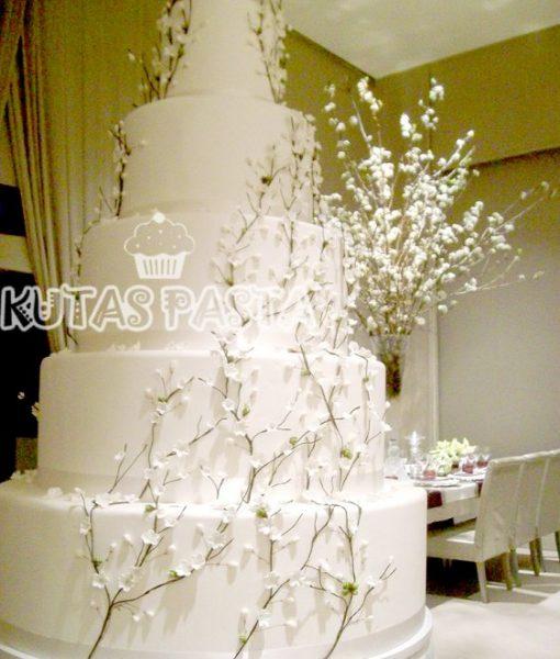 Düğün Pasta Maketi Bahar Dalı