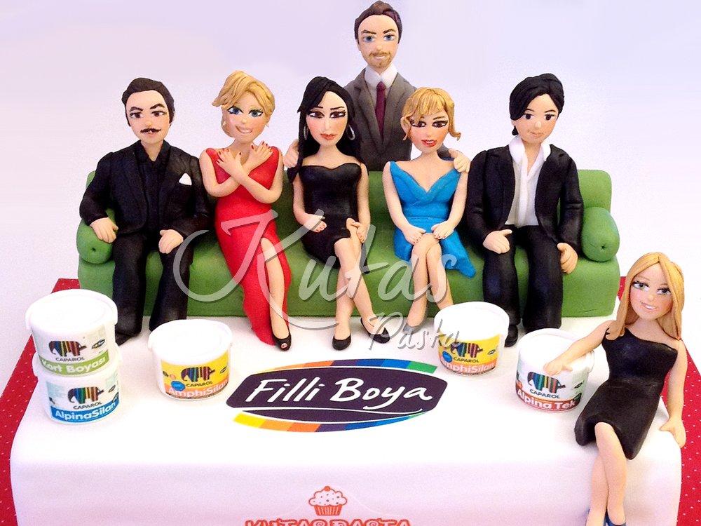 Beyaz Show Pastası