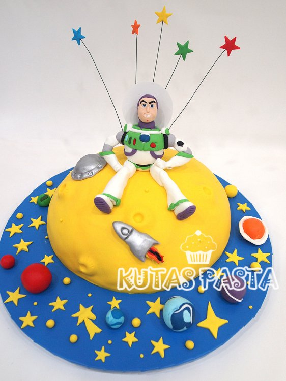 Buzz Light Year Pasta
