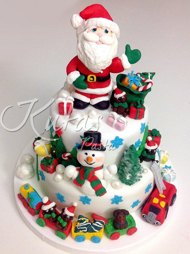 Noel Baba Pastası