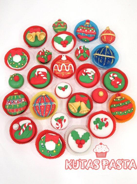 Christmas Yılbaşı Cupcake