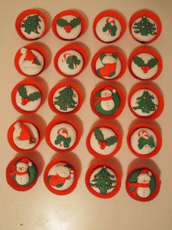 Christmas Yeni Yıl Cupcake