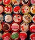 Renkli Cupcakeler