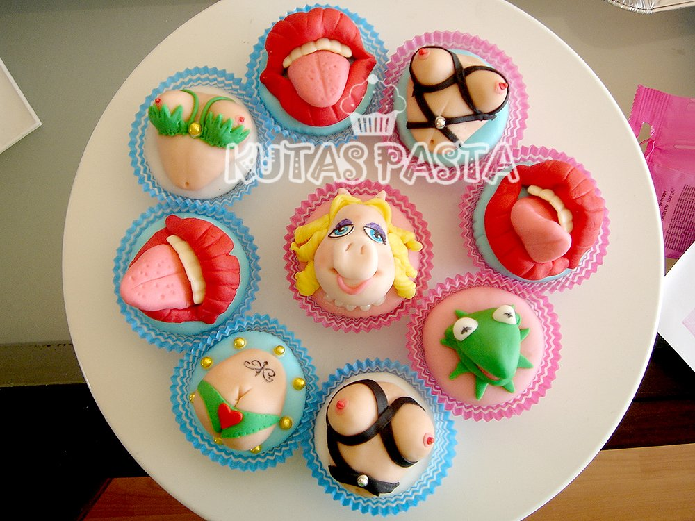 Muppet Show Cupcake Kupkek