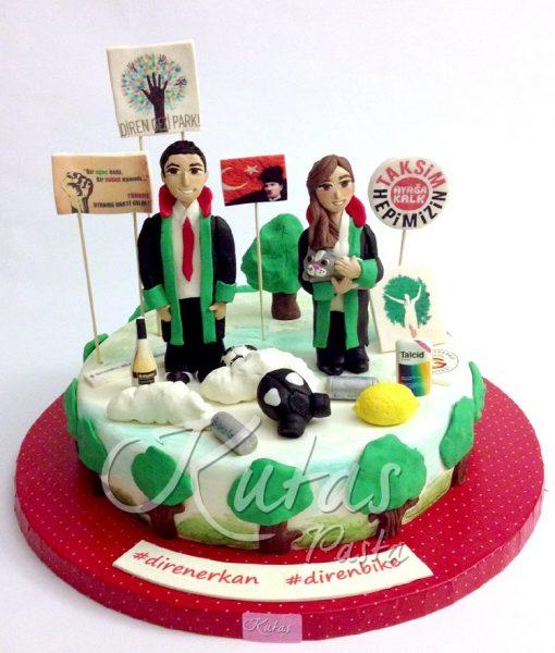 Avukat Çift Pasta