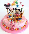 Disney Kulüp Evi Pasta