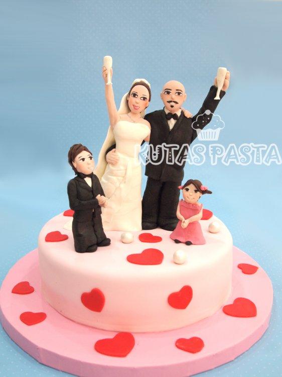Evlilik Yıl Dönümü Pasta