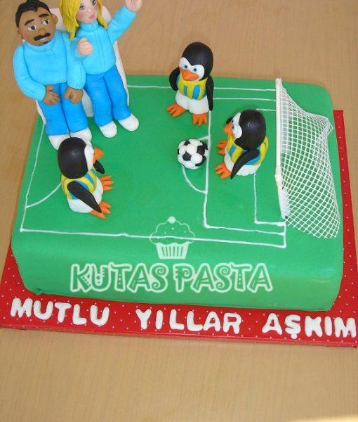 Fenerbahçeli Çift Pasta