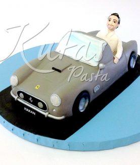Araba Pasta Ferrari