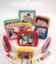 Aile Fotoğrafları Pasta