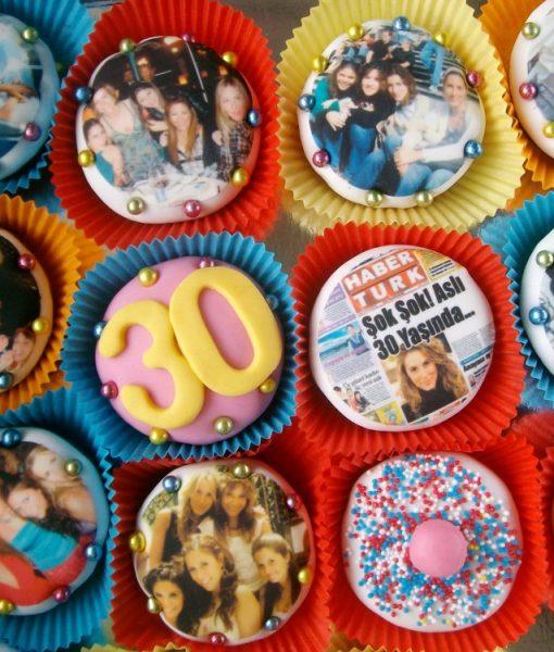 30 Yaş Cupcake