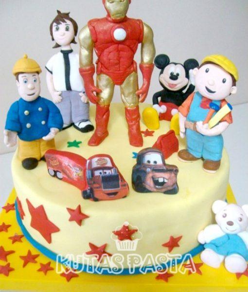Demir adam ironman pasta
