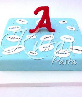 İyi Dilek Yeni Yıl Pastası