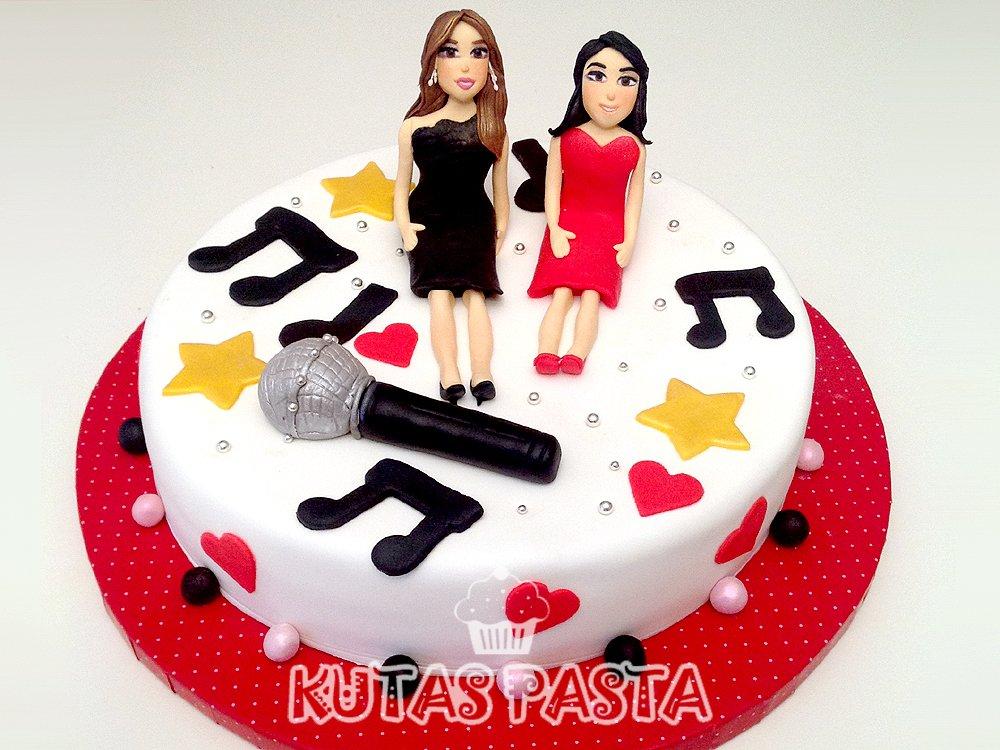 Müzik Temalı Pasta