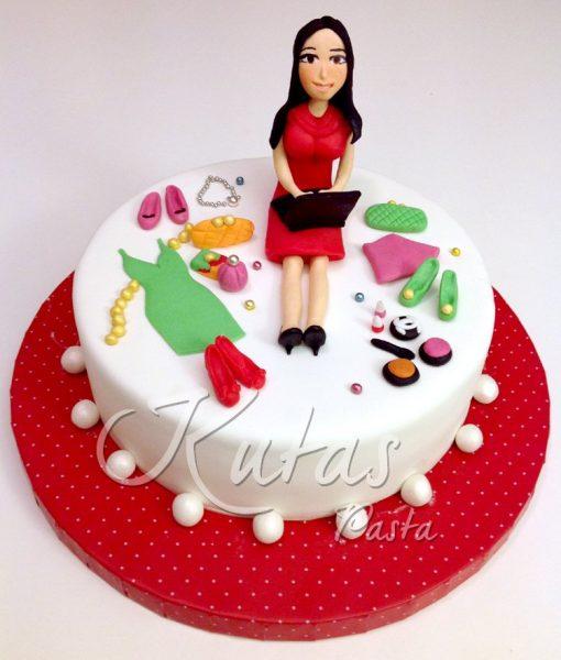 sevgiliye doğum günü pastası