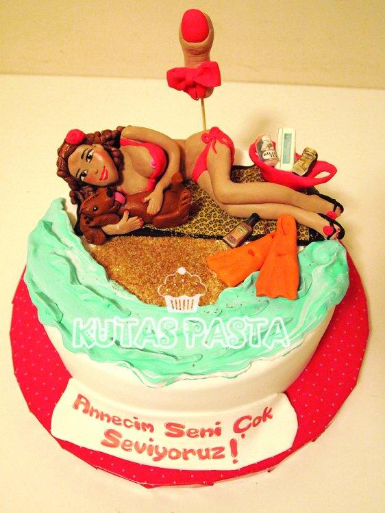 Seksi Bikini Pasta Deniz