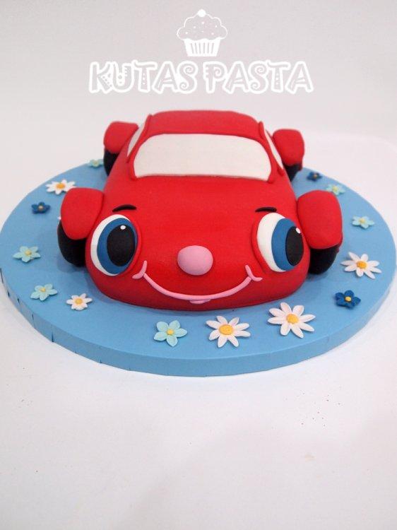 Oyuncak Araba Pasta