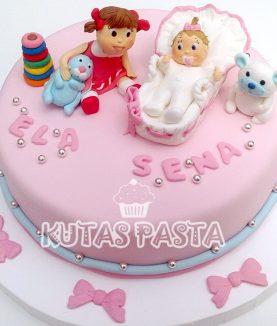 Kız Bebek Pastası