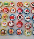 Kokoş Süslü Cupcake
