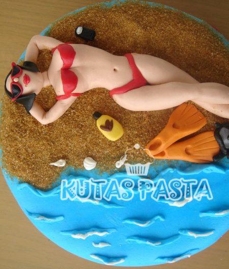 Bikini Deniz Kumsal Pastası