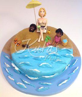 Deniz ve Plaj Pastası