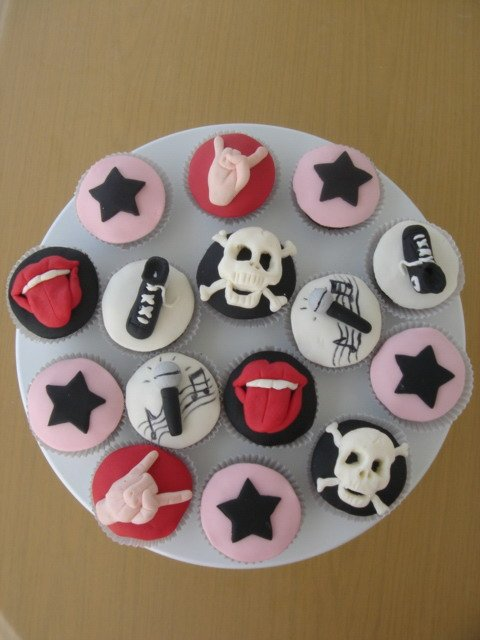 Rockn Roll Cupcake