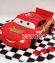 Şimşek Mcqueen Pasta Araba Mekkuin