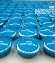 Kurumsal Mavi Jeans Cupcake
