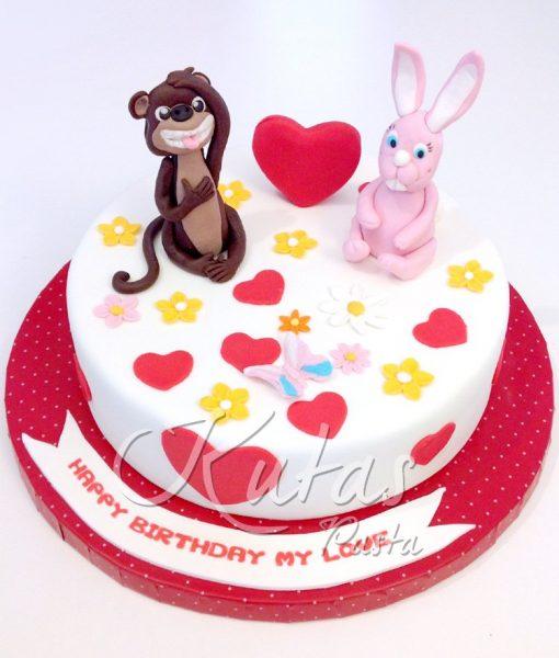Maymun Tavşan Pasta