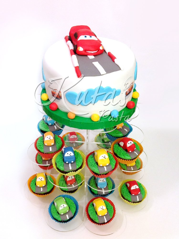 Şimşek Mcqueen Cupcake